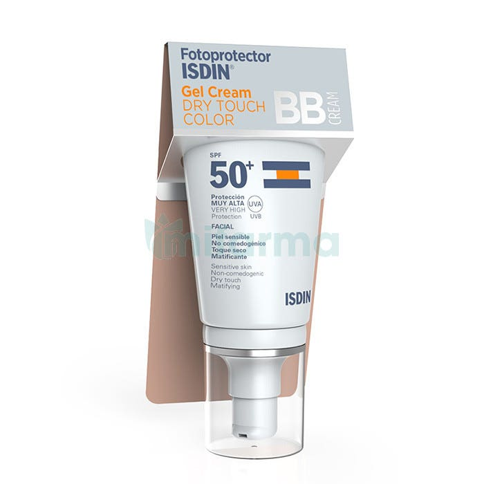 Isdin Fotoprotector Gel Cream Dry Touch Color 50 ml