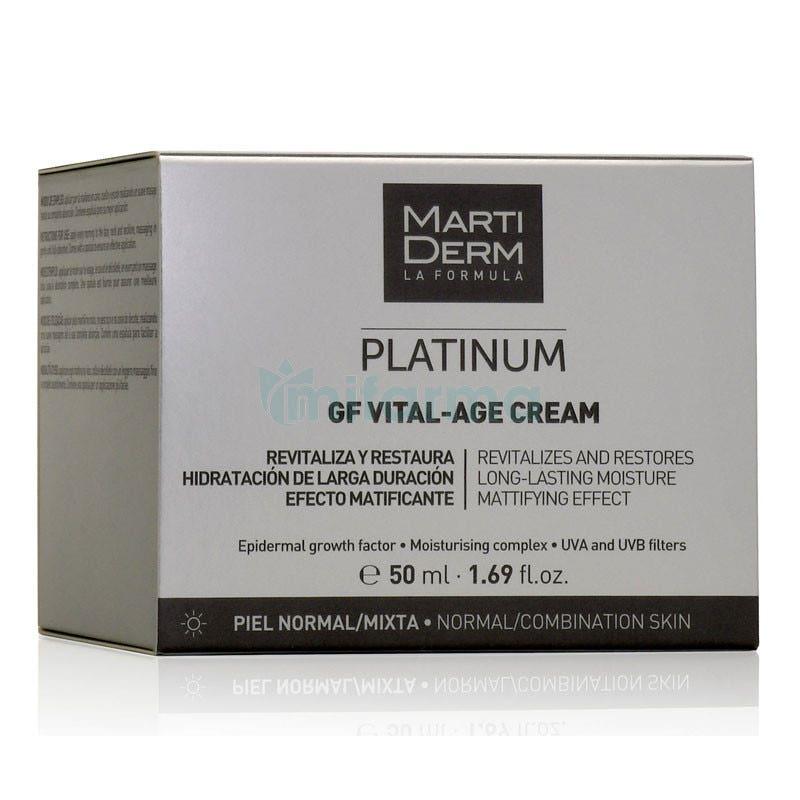 Martiderm Platinum GF Vital-Age Pieles Normales y Mixtas 50ml
