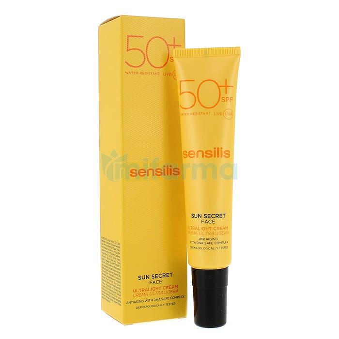 Sensilis Sun Secret Crema Solar Facial Protectora y Antiedad SPF50 40ml