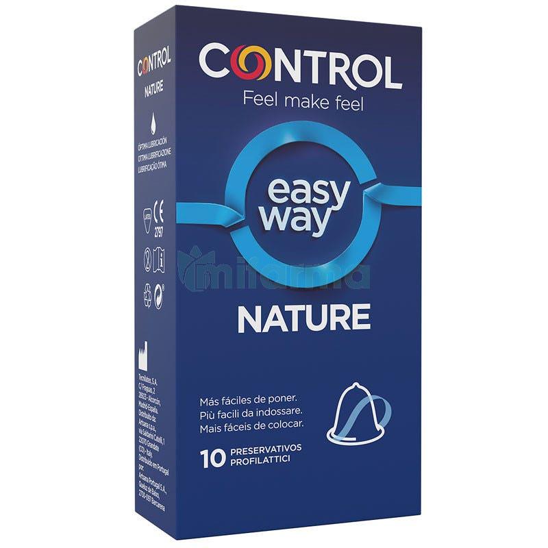 Control Nature Easy Way 10 Preservativos