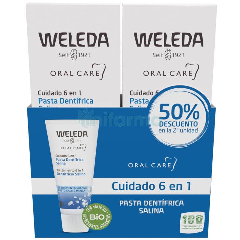 Weleda Duplo Pasta Dentifrica Salina 75 ml 75 ml