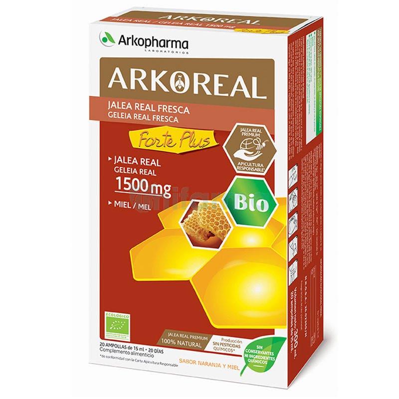 Arko Real Jalea Real 1500 mg 20 Ampollas
