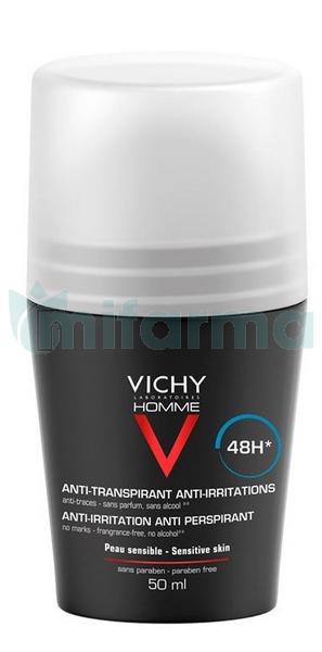 Vichy Homme Desodorante Roll on Pieles Sensible 50 ml