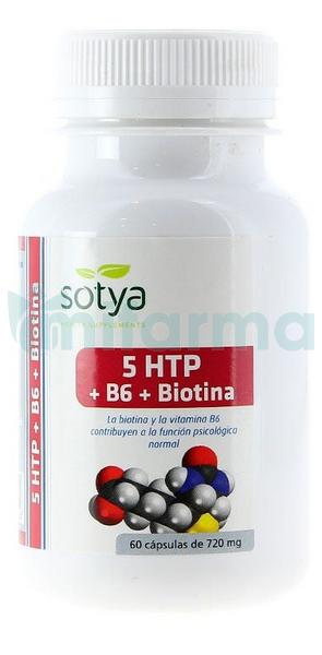 5HTP Triptofano Sotya 750 mg 60 Capsule