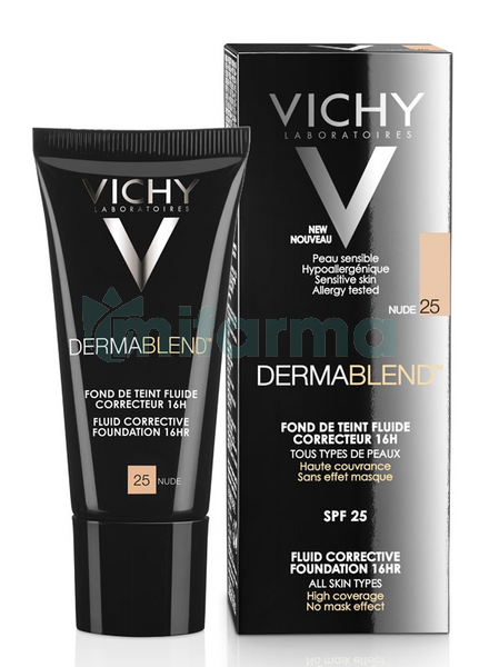 Vichy Dermablend Maquillaje Nude No25 30ml