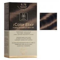 Tinte My Color Elixir Apivita N6.78 Rubio Oscuro Arena Perlado
