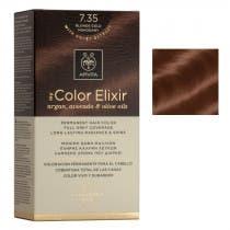 Tinte My Color Elixir Apivita N7.35 Rubio Dorado Caoba
