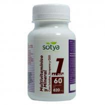 Multivitaminico y Mineral con luteina, licopeno y Q10 Sotya 820 mg 60 Capsulas