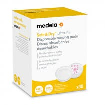 Discos Lactancia Safe and Dry Ultra Thin Medela 30Uds