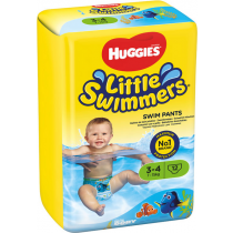 Panales Huggies Little Swimmers Talla 3-4 7-15Kg 12ud