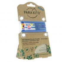 Parakito Kids Pulsera Antimosquitos Azul Barquito 3m