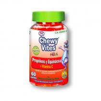 Propoleo, Equinacea y Vitamina C Ninos Chewy Vites TLC 60 Uds