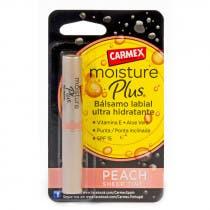 Carmex Moisture Plus Balsamo Labial Ultra Hidratante Peach Sheer Tint SPF15 2Gramos