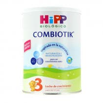 Leche Biologica Combiotik Crecimiento 3 HIPP 800gr