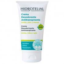 Hidrotelial Crema Activa Desodorante Antitranspirante Axilas, Pies y Manos 50ml