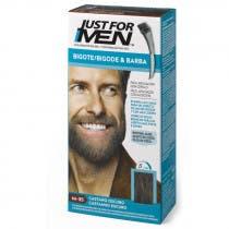 Just For Men Bigote  Barba y Patillas Para el Hombre Color Castano Oscuro