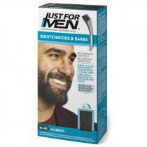 Just For Men Bigote  Barba y Patillas Para el Hombre Color Moreno