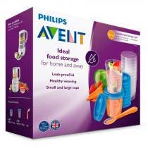 Avent Recipientes Set Gourmet 10x180ml 10x240ml 6m