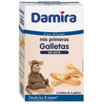 Damira Galletas sin Lactosa 24 Unidades 8m