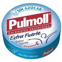 Pulmoll Extra Fuerte Sin Azucar Vitamina C 45g