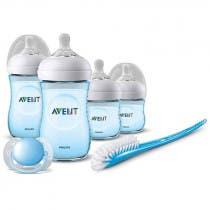 Set Recién Nacido Natural Philips Avent Color Azul