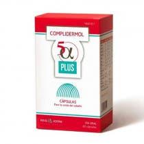 Capsulas Anticaida Complidermol 5 Alfa Plus 60 Capsulas