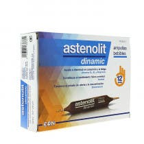 Astenolit Dinamic 12 Ampollas Bebibles 10ml