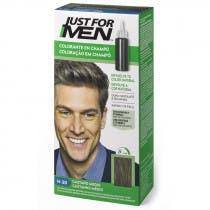 Just For Men Champu para Hombre Tinte para Hombre Colorante en Champu Castano Medio