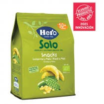 Solo Snack Ecologico Guisantes y Maiz Hero Baby 50gr