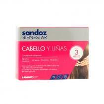Sandoz Bienestar Cabello y Unas 90 Capsulas