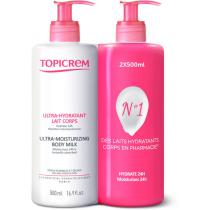 Topicrem Leche Corporal Ultra Hidratante 500ml 500ml Duplo