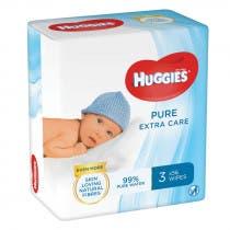 Huggies Toallitas Pure Extra Care 56Uds TRIPLO