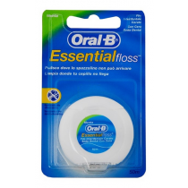 Oral B Seda Essential Floss Con Cera Menta 50m