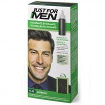 Just For Men Champu para Hombre Tinte para Hombre Colorante en Champu Moreno