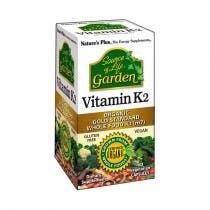 Vitamina K2 Garden Natures Plus 60 Capsulas