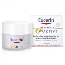 Eucerin Q10 Active Antiarrugas Crema Dia Piel Seca 50ml