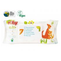 NUBY All Natural Toallitas para Bebes 80 Unidades Citroganix