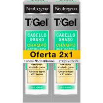 Neutrogena T gel Champu Normal graso 250ml  250ml DUPLO