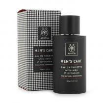 Apivita Colonia para Hombre Mens Care Hombre Eau de Toilette con Cedro y Cardamomo 100ml