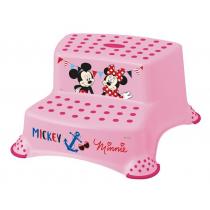 Taburete Doble Minnie Mouse Plastimyr