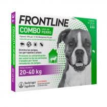Frontline Combo Perros 20-40kg 3 Pipetas