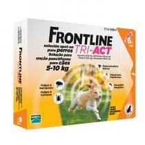 Frontline Tri Act Perros 5-10 kg 6 Pipetas