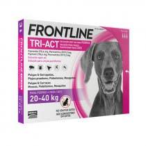 Frontline Tri Act Perros 20-40kg 3 Pipetas