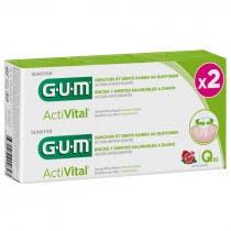 Pack Gum Gel Dental Activital 75ml 75ml Duplo