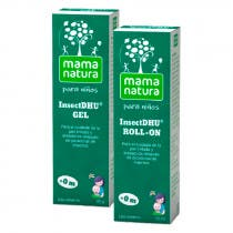 Kit Picaduras Niños Mama Natura InsectDhu Roll On 10ml + Gel 20Gr