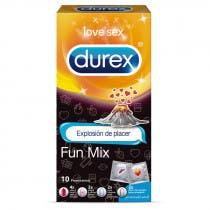 Preservativo Fun Mix Emoji Durex 10 unidades