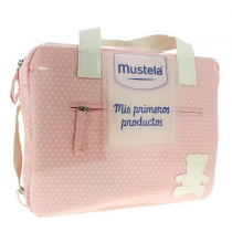 Mustela Bolsa Maternal Mis Primeros Productos Rosa