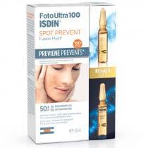 Pack Isdin FotoUltra 100 Spot Prevent 50ml REGALO 2 Ampollas