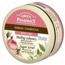 Peeling Corporal de Rosa Mosqueta y Te Verde Green Pharmacy 300ml