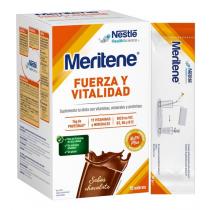 Meritene Fuerza y Vitalidad Chocolate 15 Sobres de 30gr